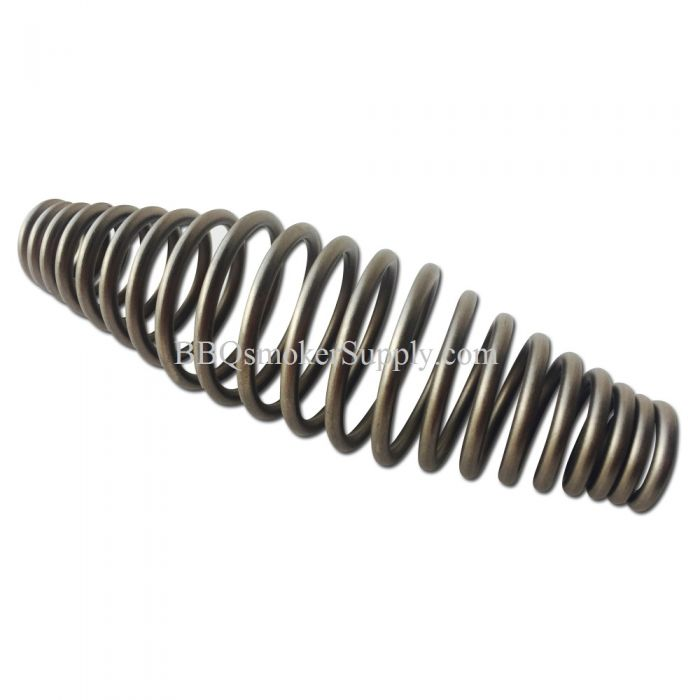 5 inch Spring Handle - 1/2 inch ID - Brushed Stainless Steel Springs