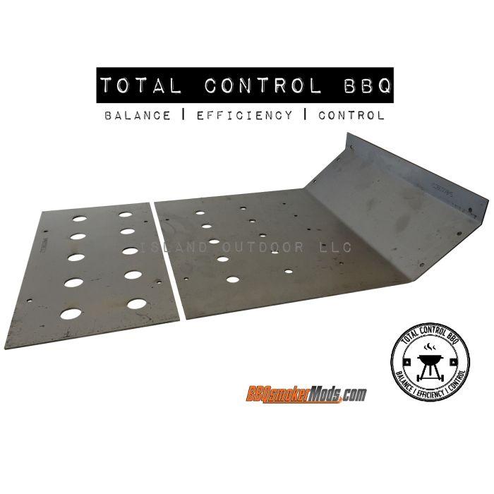 Horizontal Baffle Plate (Heat Deflector Tuning Plate)
