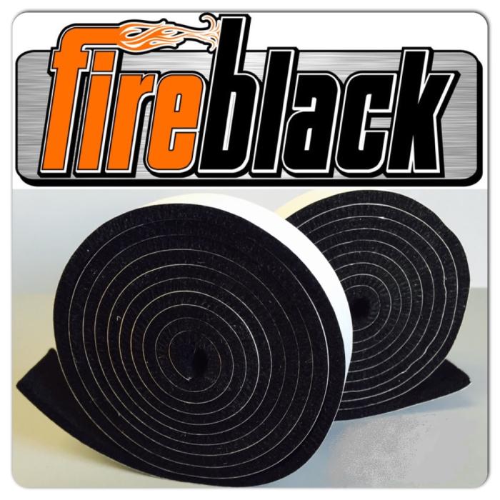FireBlack® BBQ smoker gasket (Self stick)