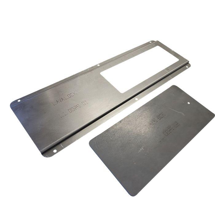 4 x 10 slide damper 40 sq inch