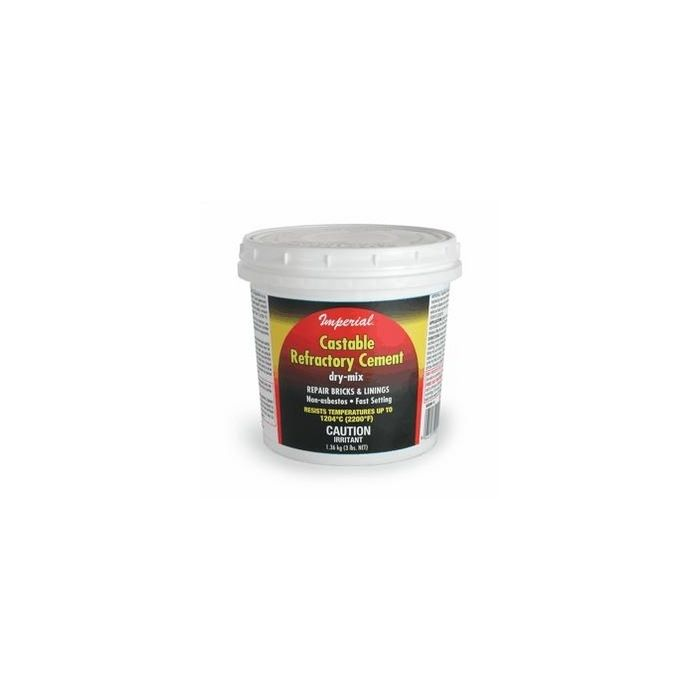 Castable Refractory Cement 3lb Dry
