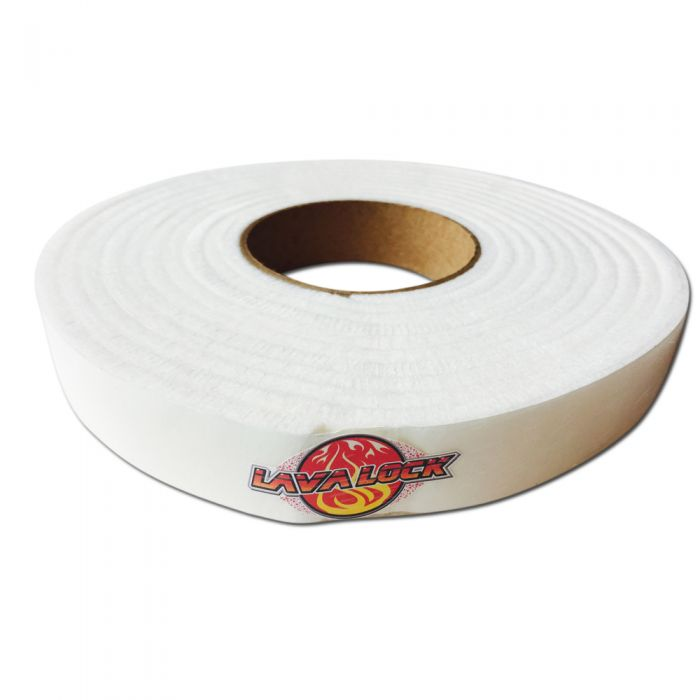 LavaLock 1 x 1/4 x 15' White (self stick)