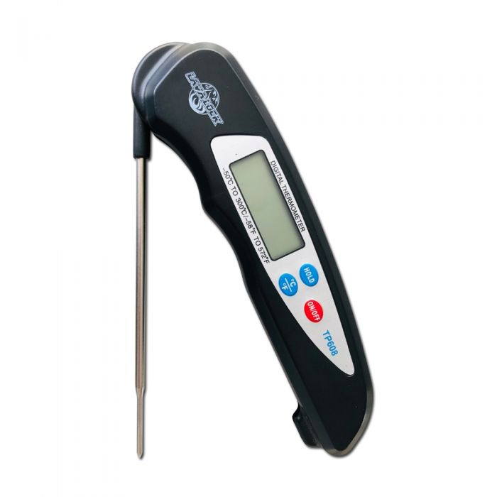 Instant Read Thermometer BBQ smoker pit Quick read thermo pen by LavaLock®