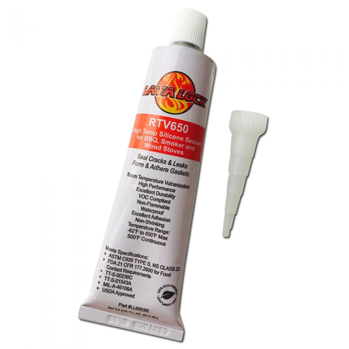 LavaLock 3oz Red RTV gasket silicon adhesive