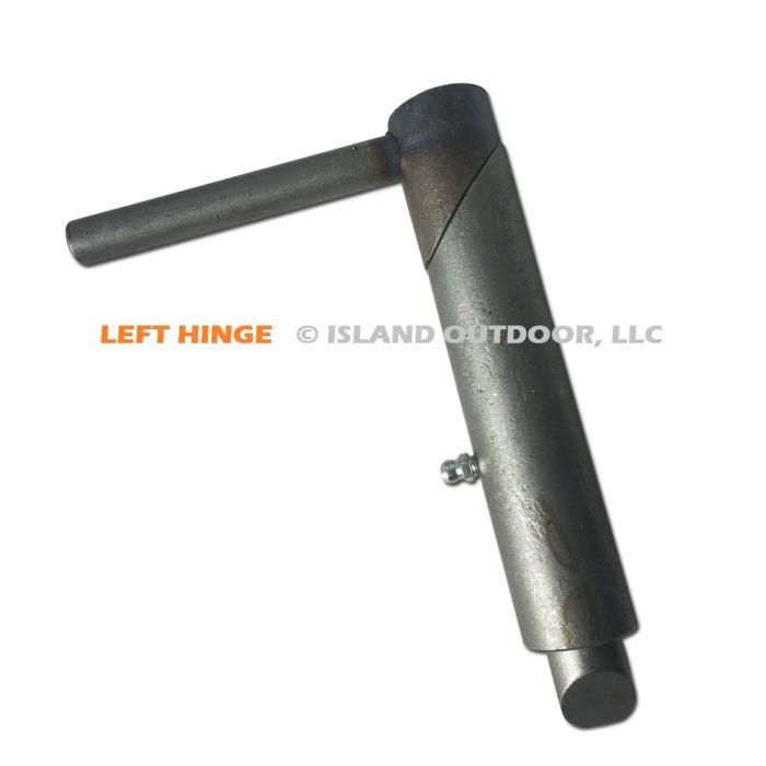 Self Closing (LEFT HAND) Door Hinge - Slam Action