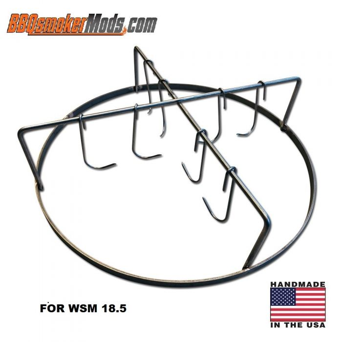 LL Rib hanging system with meat hooks