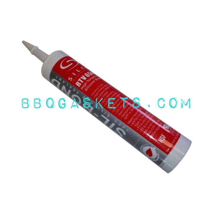 Silco RTV Red 650F max, 10 oz cartridge