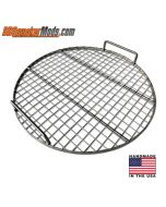 """21.5"""" Stainless Wire Cooking grate for UDS, Some Weber / BGE / Kamado"""
